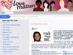 Love Matters Exclusive Website Aid